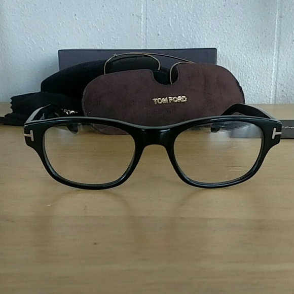 Tom Ford Other - Tom Ford Eyeglasses with clip on Shades